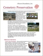 Chicora Foundation Cemetery Preservation Guide