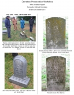 Cemetery Preservation Workshop